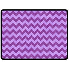 Background Fabric Violet Fleece Blanket (large)