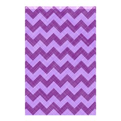 Background Fabric Violet Shower Curtain 48  X 72  (small)