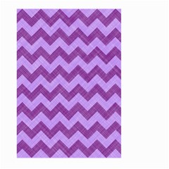 Background Fabric Violet Large Garden Flag (two Sides)