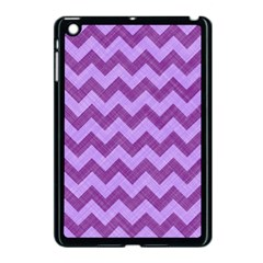 Background Fabric Violet Apple Ipad Mini Case (black) by Nexatart