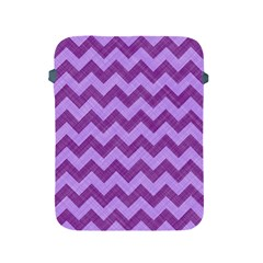 Background Fabric Violet Apple Ipad 2/3/4 Protective Soft Cases
