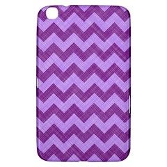 Background Fabric Violet Samsung Galaxy Tab 3 (8 ) T3100 Hardshell Case