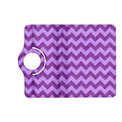 Background Fabric Violet Kindle Fire Hd (2013) Flip 360 Case by Nexatart