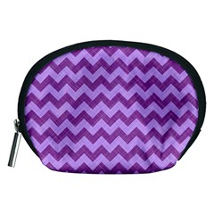 Background Fabric Violet Accessory Pouches (medium)