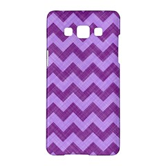 Background Fabric Violet Samsung Galaxy A5 Hardshell Case