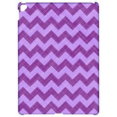 Background Fabric Violet Apple Ipad Pro 12 9   Hardshell Case