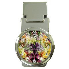 Background Art Abstract Watercolor Money Clip Watches
