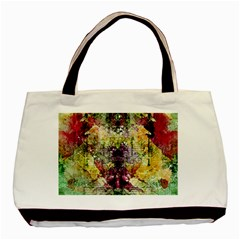 Background Art Abstract Watercolor Basic Tote Bag (two Sides)