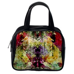 Background Art Abstract Watercolor Classic Handbags (one Side)