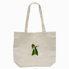 St  Patrick  Dabbing Tote Bag (cream) by Valentinaart