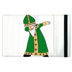 St  Patrick  Dabbing Apple Ipad 2 Flip Case by Valentinaart