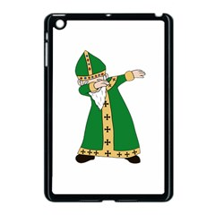 St  Patrick  Dabbing Apple Ipad Mini Case (black) by Valentinaart