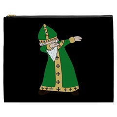 St  Patrick  Dabbing Cosmetic Bag (xxxl)  by Valentinaart