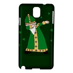 St  Patrick  Dabbing Samsung Galaxy Note 3 N9005 Hardshell Case by Valentinaart
