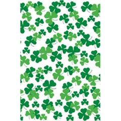 St  Patricks Day Clover Pattern 5 5  X 8 5  Notebooks by Valentinaart