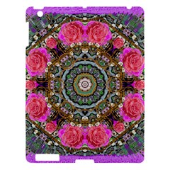 Roses In A Color Cascade Of Freedom And Peace Apple Ipad 3/4 Hardshell Case by pepitasart