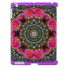Roses In A Color Cascade Of Freedom And Peace Apple Ipad 3/4 Hardshell Case (compatible With Smart Cover) by pepitasart