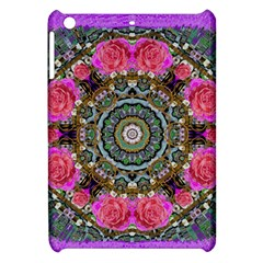 Roses In A Color Cascade Of Freedom And Peace Apple Ipad Mini Hardshell Case by pepitasart