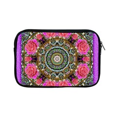 Roses In A Color Cascade Of Freedom And Peace Apple Ipad Mini Zipper Cases by pepitasart