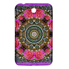 Roses In A Color Cascade Of Freedom And Peace Samsung Galaxy Tab 3 (7 ) P3200 Hardshell Case  by pepitasart