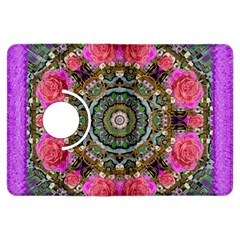 Roses In A Color Cascade Of Freedom And Peace Kindle Fire Hdx Flip 360 Case by pepitasart
