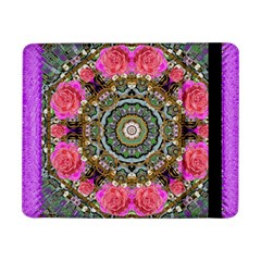 Roses In A Color Cascade Of Freedom And Peace Samsung Galaxy Tab Pro 8 4  Flip Case by pepitasart