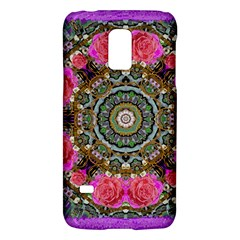 Roses In A Color Cascade Of Freedom And Peace Galaxy S5 Mini by pepitasart
