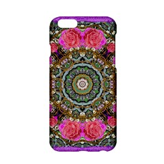 Roses In A Color Cascade Of Freedom And Peace Apple Iphone 6/6s Hardshell Case by pepitasart