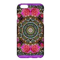 Roses In A Color Cascade Of Freedom And Peace Apple Iphone 6 Plus/6s Plus Hardshell Case by pepitasart