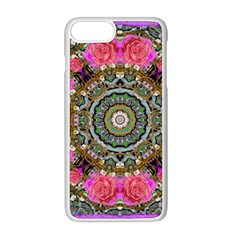 Roses In A Color Cascade Of Freedom And Peace Apple Iphone 8 Plus Seamless Case (white) by pepitasart