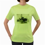 USS YMS-415 Pic Women s Green T-Shirt
