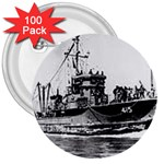 USS YMS-415 Pic 3  Button (100 pack)