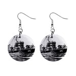 USS YMS-415 Pic 1  Button Earrings