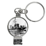 USS YMS-415 Pic Nail Clippers Key Chain