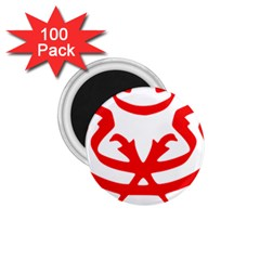 Malaysia Unmo Logo 1 75  Magnets (100 Pack)  by abbeyz71