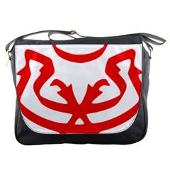 Malaysia Unmo Logo Messenger Bags by abbeyz71