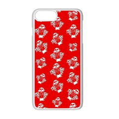 Pizza My Heart Apple Iphone 7 Plus Seamless Case (white) by Roxzanoart