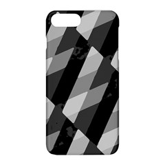 Black And White Grunge Striped Pattern Apple Iphone 8 Plus Hardshell Case