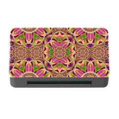 Jungle Flowers In Paradise  Lovely Chic Colors Memory Card Reader With Cf by pepitasart