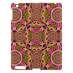 Jungle Flowers In Paradise  Lovely Chic Colors Apple Ipad 3/4 Hardshell Case by pepitasart
