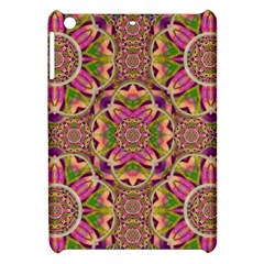 Jungle Flowers In Paradise  Lovely Chic Colors Apple Ipad Mini Hardshell Case by pepitasart