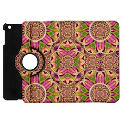 Jungle Flowers In Paradise  Lovely Chic Colors Apple Ipad Mini Flip 360 Case by pepitasart