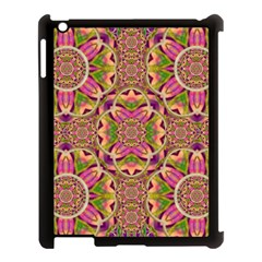 Jungle Flowers In Paradise  Lovely Chic Colors Apple Ipad 3/4 Case (black) by pepitasart
