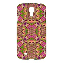 Jungle Flowers In Paradise  Lovely Chic Colors Samsung Galaxy S4 I9500/i9505 Hardshell Case by pepitasart