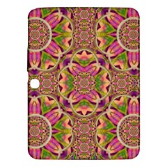 Jungle Flowers In Paradise  Lovely Chic Colors Samsung Galaxy Tab 3 (10 1 ) P5200 Hardshell Case  by pepitasart