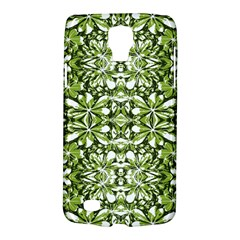 Stylized Nature Print Pattern Galaxy S4 Active by dflcprints