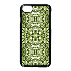 Stylized Nature Print Pattern Apple Iphone 8 Seamless Case (black) by dflcprints
