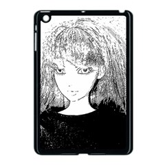 Girl Apple Ipad Mini Case (black) by snowwhitegirl