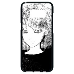 Girl Samsung Galaxy S8 Black Seamless Case by snowwhitegirl