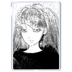 Girl Apple Ipad Pro 9 7   White Seamless Case by snowwhitegirl